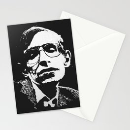 STEPHEN HAWKING - EMPATHY quote Stationery Cards