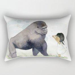 Hug me , Mr. Gorilla Rectangular Pillow