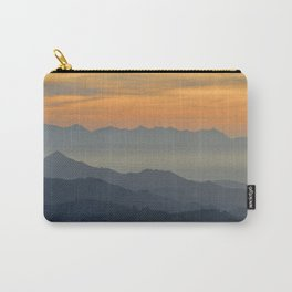 Sunset at the mountains Carry-All Pouch