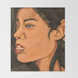 Mila J Music Block Throw Blanket