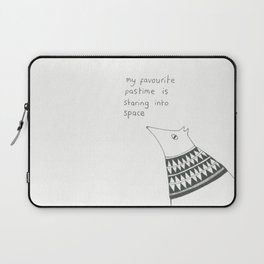 staring into space Laptop Sleeve