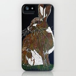Hare Today iPhone Case