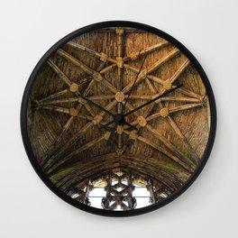 Scottish Rose Wall Clock