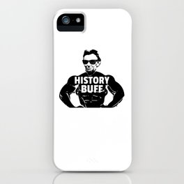 Abraham Lincoln History Buff Gift iPhone Case