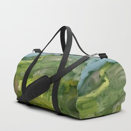 Landscape 1 Mountains Farm Duffle Bag
