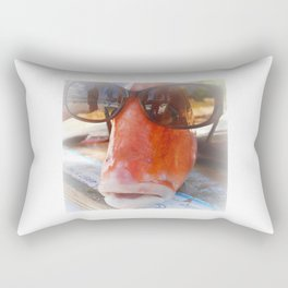 Cool Fish..... Rectangular Pillow