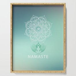 Namaste 2 Serving Tray