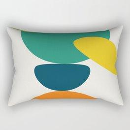 Abstract No.10 Rectangular Pillow