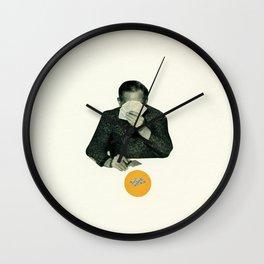 Poker Face Wall Clock