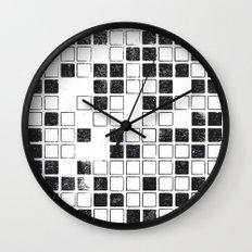 Square Grid Wall Clock