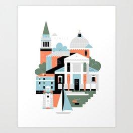 Venice / San Giorgio Maggiore Art Print