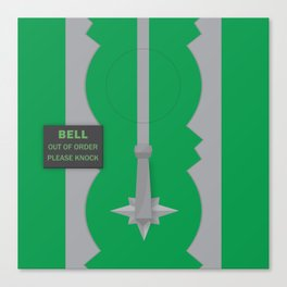 Entrance to the Emerald City Canvas Print