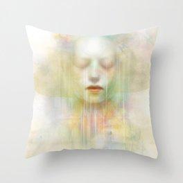 Guardian of souls Throw Pillow