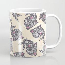 Spring Rabbits Coffee Mug