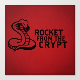 Rocket from the Crypt Canvas Print