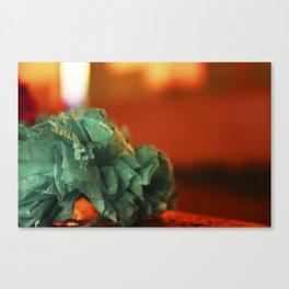 Paper florwers Canvas Print