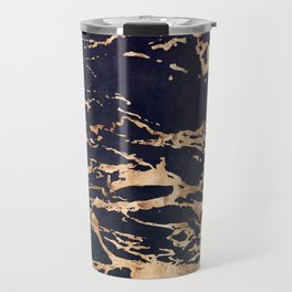 Double Marble Lichenradient Suede Travel Mug