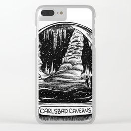 Carlsbad Caverns Clear iPhone Case