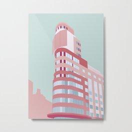 Madrid Building 2 Metal Print