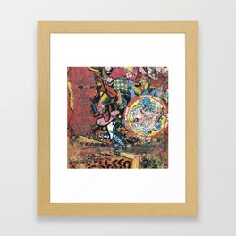 Santa Cruz, Jeff Grosso, Toy Box, 1987 Framed Art Print