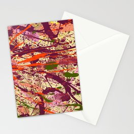 Abstract Fans 7 Stationery Cards
