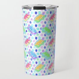 Beautiful Australian Native Animal Print - Lovely Koalas Travel Mug