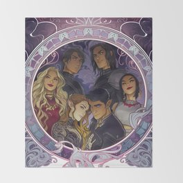 The Inner Circle Throw Blanket