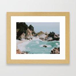 big sur / california Framed Art Print