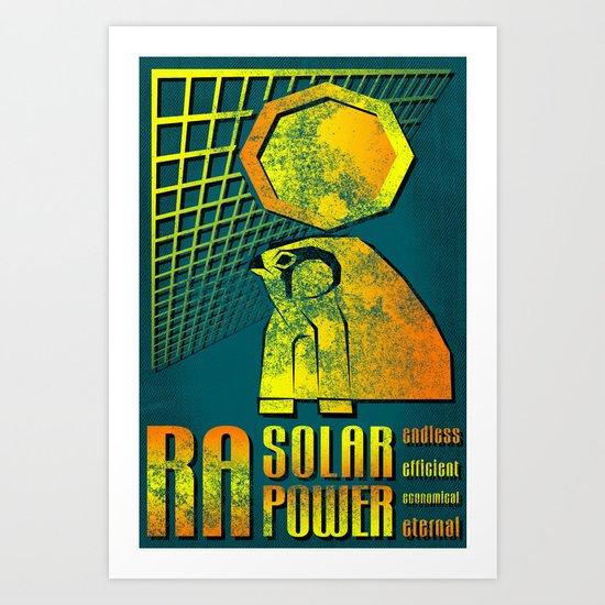 Ra Solar Power Art Print