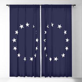 13 Stars Patriotic Circle Blackout Curtain