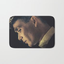 Peaky Blinders, Cillian Murphy, Thomas Shelby, BBC Tv series, gangster family Bath Mat