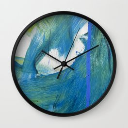 JP Was Here VI Wall Clock
