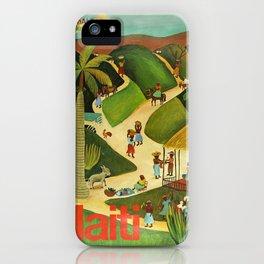 Vintage Travel Haiti 2 iPhone Case