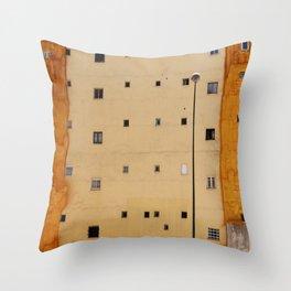 Human geometry Throw Pillow