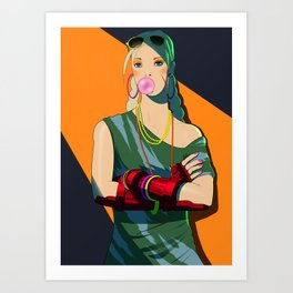 80'S Cammy Art Print