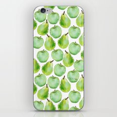 Apples and Pears iPhone & iPod Skin