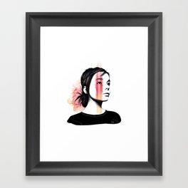 Björk Framed Art Print