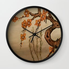 Soothing Evening Wall Clock