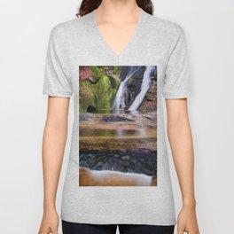 Widows Creek Falls 7 Unisex V-Neck