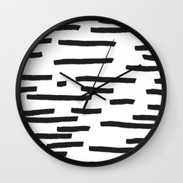 Minimal B&W Wall Clock