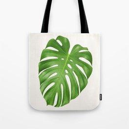 Tropical leaf print botanical print tropical decor minimalist leaves Tote Bag