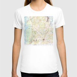 FL Inverness 346789 1979 topographic map T-shirt