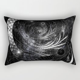 Cosmic Midnight - Mystery of the Onyx Rectangular Pillow