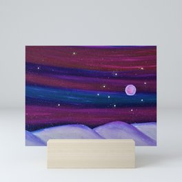 Moonlight Snow Mini Art Print