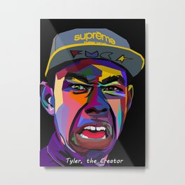 Tyler The Creator art print Metal Print