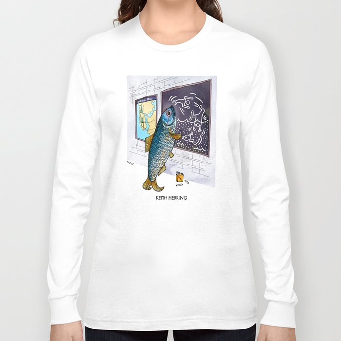 Keith Herring Long Sleeve T-shirt