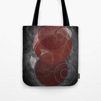 mars Tote Bags featuring Mars by Nick Volkert