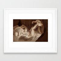 bouletcorp Framed Art Prints featuring La Gimbette by Bouletcorp