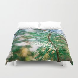 in the pines III Duvet Cover