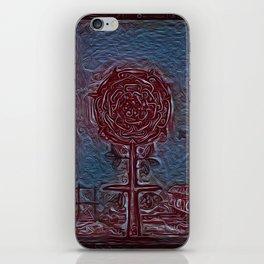 rosicrucian wriggle iPhone Skin